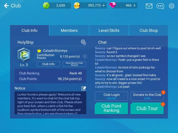 Club Symbol Fishing Strike Official Community
